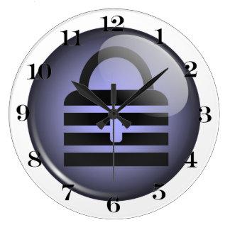 Símbolo del botón de Keypass Reloj