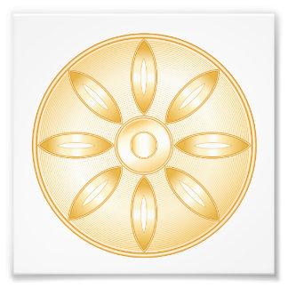 Símbolo del Buddhism Fotografía