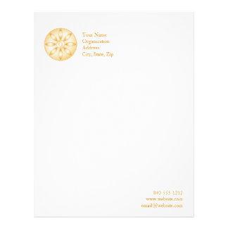 Símbolo del Buddhism Membrete A Diseño