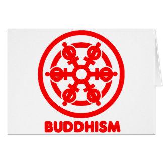 Símbolo del Buddhism Tarjeta De Felicitación