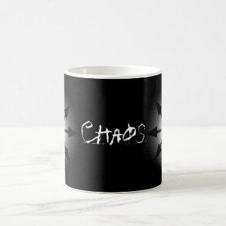 Símbolo del caos tazas