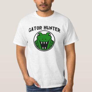 Símbolo del cazador del cocodrilo remera