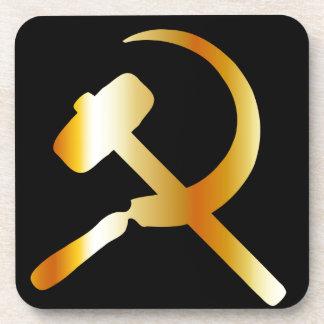 Símbolo del comunismo posavaso