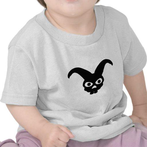símbolo del cráneo del conejo camiseta