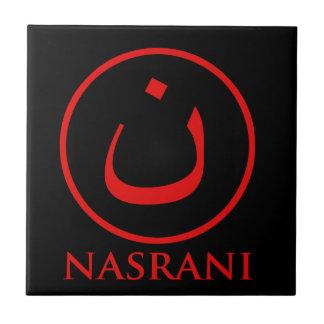 Símbolo del cristiano de Nasrani Azulejo Cerámica