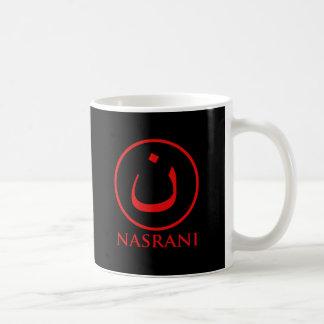 Símbolo del cristiano de Nasrani Taza De Café