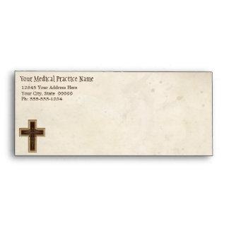 Símbolo del cristiano del médico práctica del médi