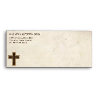 Símbolo del cristiano del médico práctica del médi sobre