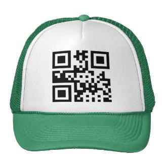 Símbolo del ☮ de la paz -- Código de QR Gorra