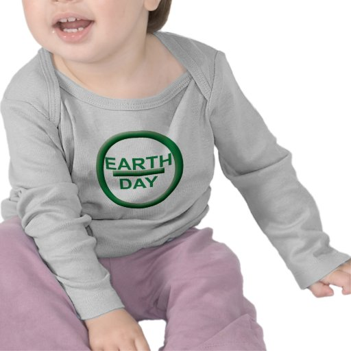 Símbolo del Día de la Tierra Camiseta