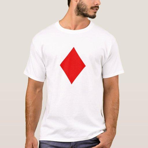 Símbolo del diamante playera