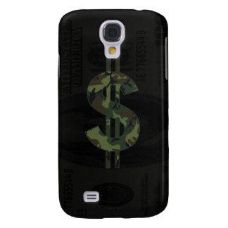 Símbolo del dinero de Camoflage Samsung Galaxy S4 Cover