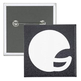 Símbolo del equipo S Pin Cuadrada 5 Cm