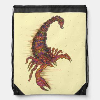 Símbolo del escorpión mochilas