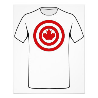 Símbolo del escudo de capitán Canadá Tarjetón