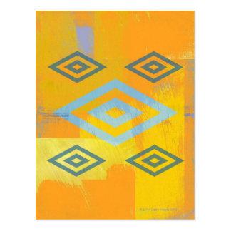 Símbolo del espiritual del nativo americano postal