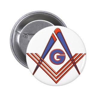 Símbolo del Freemason Pin