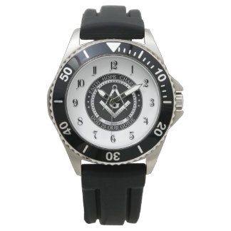 Símbolo del Freemasonry Reloj De Mano