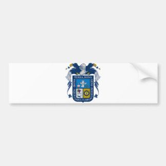 Símbolo del funcionario de Aguascalientes México d Etiqueta De Parachoque