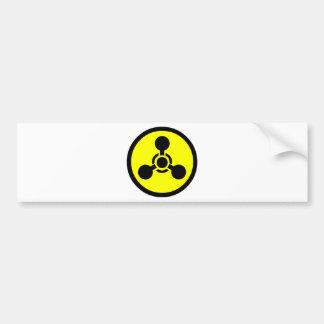 Símbolo del gas del Sarin Pegatina Para Auto