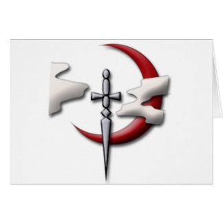 Símbolo del gremio de los exploradores tarjeta de felicitación