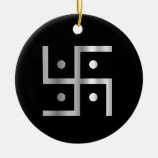 Símbolo del Hinduism Adorno Redondo De Cerámica