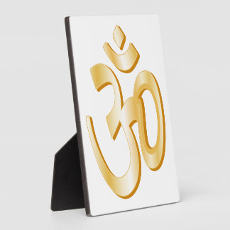 Símbolo del Hinduism Placas De Madera