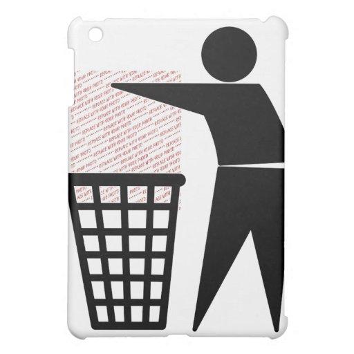 Símbolo del hombre de la basura (añada la foto)