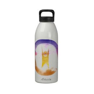 Símbolo del humanismo botellas de beber