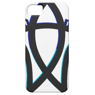 Símbolo del humanista iPhone 5 Case-Mate carcasa