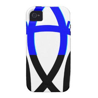 Símbolo del humanista Case-Mate iPhone 4 carcasa