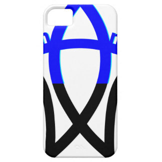 Símbolo del humanista iPhone 5 protector