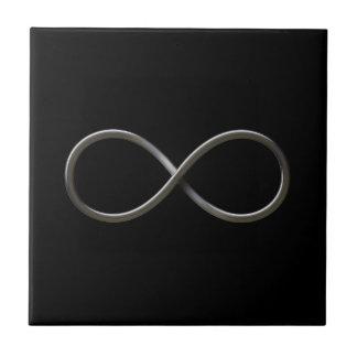 Símbolo del infinito azulejo ceramica