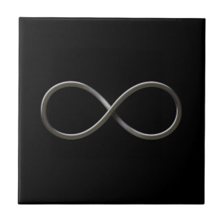 Símbolo del infinito azulejos