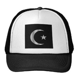 Símbolo del Islam Gorros Bordados