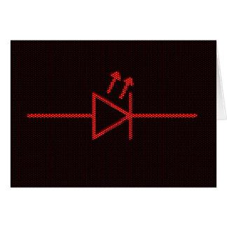 Símbolo del LED Tarjeton
