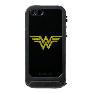 Símbolo del Lite-Brite WW Carcasa De Iphone 5 Incipio Atlas Id