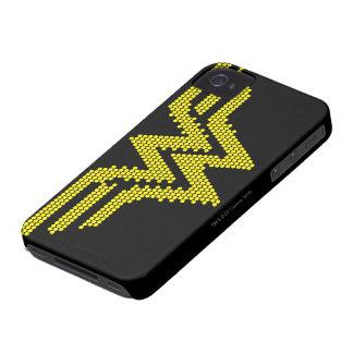 Símbolo del Lite-Brite WW Case-Mate iPhone 4 Carcasas