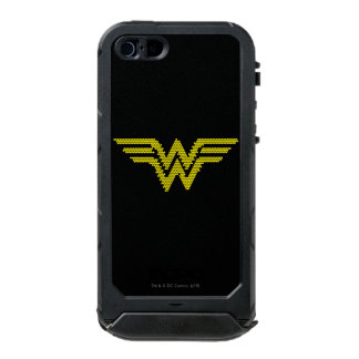 Símbolo del Lite-Brite WW Funda Para iPhone 5 Incipio ATLAS ID