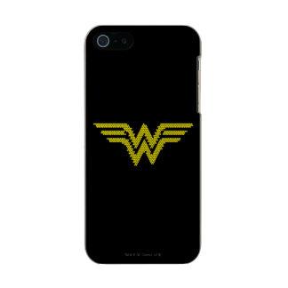 Símbolo del Lite-Brite WW Funda Para iPhone 5 Incipio Feather Shine