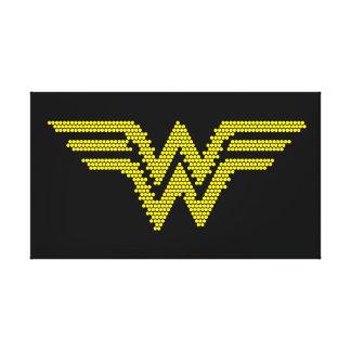Símbolo del Lite-Brite WW Impresión En Lienzo