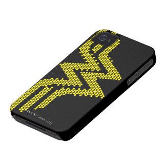 Símbolo del Lite-Brite WW iPhone 4 Case-Mate Funda