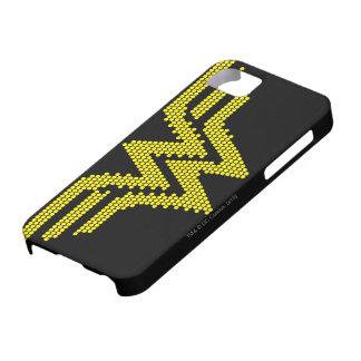Símbolo del Lite-Brite WW iPhone 5 Carcasa