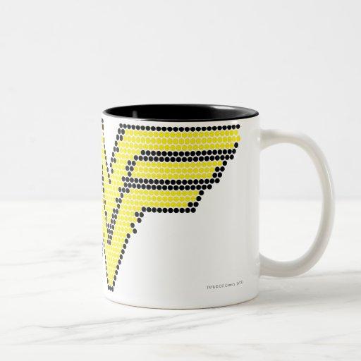 Símbolo del Lite-Brite WW Taza De Café De Dos Colores