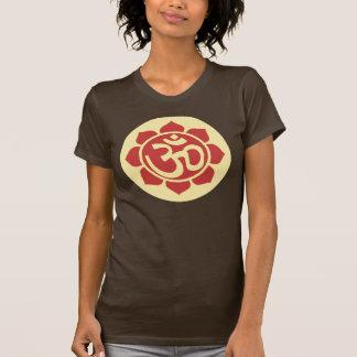 símbolo del loto del ohmio tee shirts