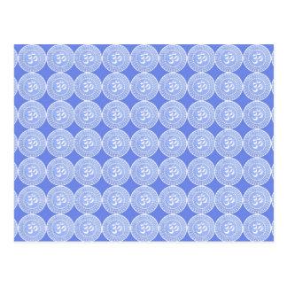 Símbolo del mantra de OM: OMMANTRA Tarjeta Postal
