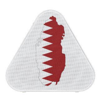 símbolo del mapa de la forma de la bandera de país altavoz