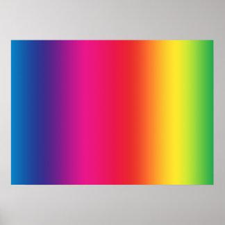 Símbolo del movimiento social de LGBT Póster