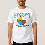 Símbolo del mundo del Hopi Playeras