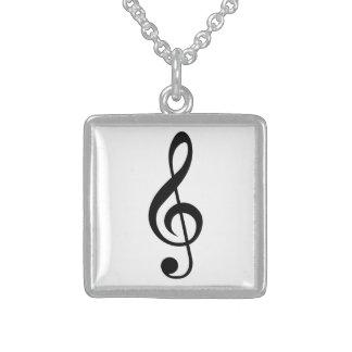 Símbolo del Musical del G-Clef del Clef agudo Joyerías